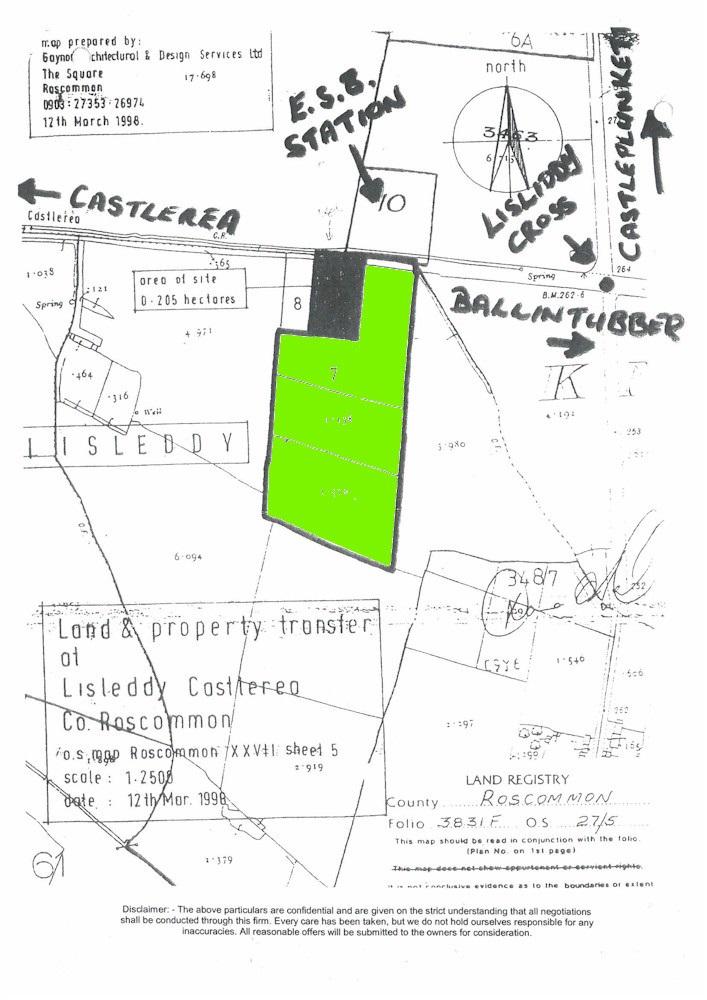 Lisliddy, Castlerea, Co. Roscommon